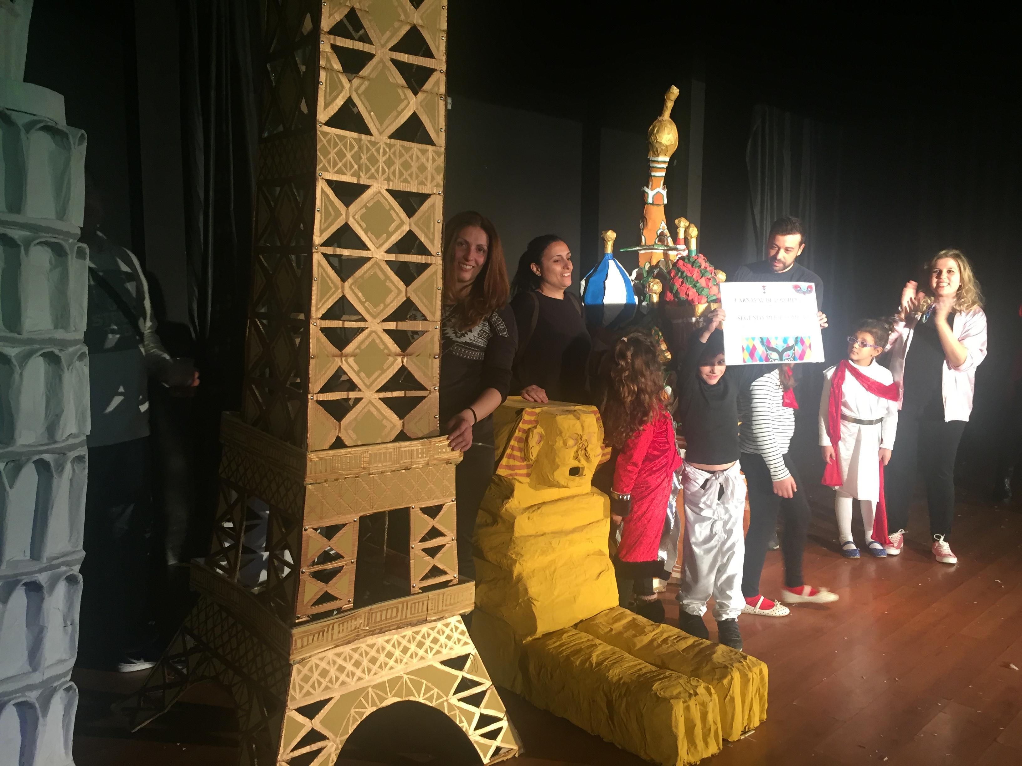Concurso de disfraces del Carnaval de Loeches 2017